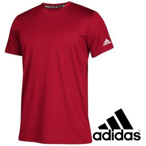 🍁2/$30🍁Adidas Men's Clima Tech Tee, Power Red, S